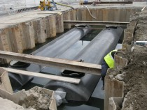 15/02/2013 - Rain water treatment at the seaport of Naples, Italy